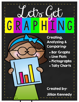 Graphing Unit: Bar Graphs, Line Plots, Pictographs & Tally Charts