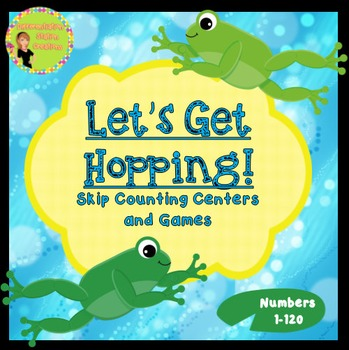 Let's Get Hopping: Skip Counting 2, 3, 5, 10's Math Lesson