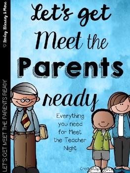 Let's Get Meet the Parents Ready