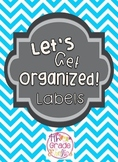 Let's Get Organized Labels