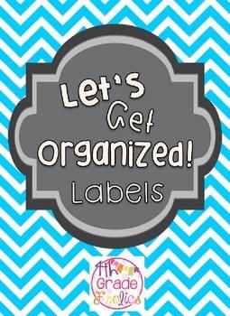 Let's Get Organized Labels