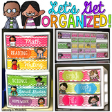 Teacher Toolbox Labels and Sterilite Drawer Labels {Chevron Kidlettes Edition }