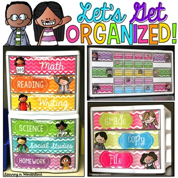 Editable Labels | Teacher Toolbox Labels | Sterilite Drawers | Classroom Decor