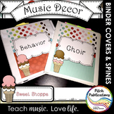 Let's Get Organized - SWEET SHOPPE - Music Binder Covers!