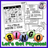 Science Bingo: Lets Get Physical Bingo Game (Physical Science)