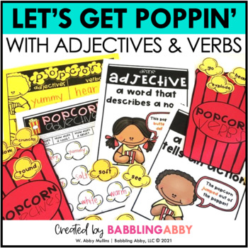 Descriptive Writing Prep with Adjectives and Verbs!