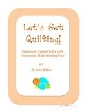 Let's Get Quilting! Craftivities
