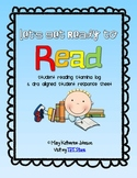 Let's Get Ready to Read {Reading Stamina Log & DRA Response Sheets}