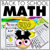 Let's Get Started {Beginning of the Year Math Activities}