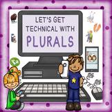 Grammar: Regular & Irregular Plurals Teaching Packet