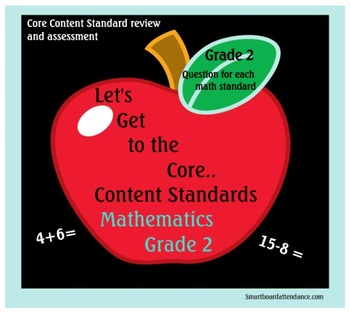 Let's Get to the Core Math Standards Grade 2