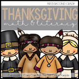 Let's Give Thanks!  20 Math & Literacy Activities