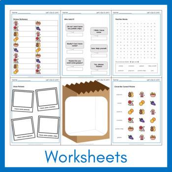 Let's Go 3 - Unit 1 Worksheets (+230 Pages!)