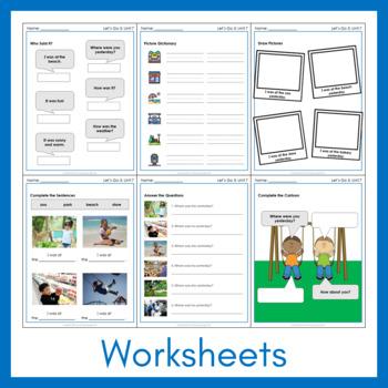 Let's Go 3 - Unit 7 Worksheets (+130 Pages!)