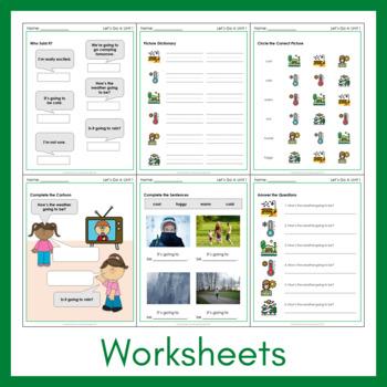Let's Go 4 - Unit 1 Worksheets (+230 Pages!)