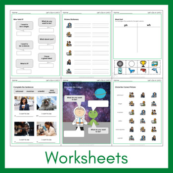 Let's Go 4 - Unit 2 Worksheets (+160 Pages!)