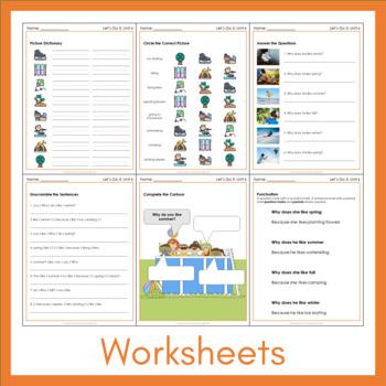 Let's Go 5 - Unit 6 Worksheets (+50 Pages!)