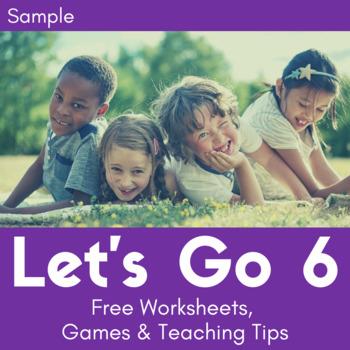 Let's Go 6 - Let's Remember Worksheets (FREEBIE!)