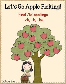 Final /K/ sound - Let's Go Apple Picking!