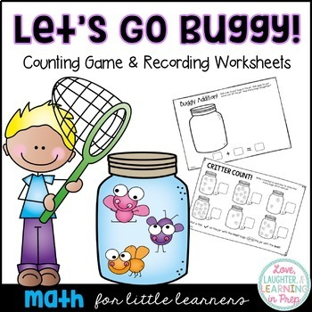 Let's Go Buggy! A hands on counting game full of bug catching fun!
