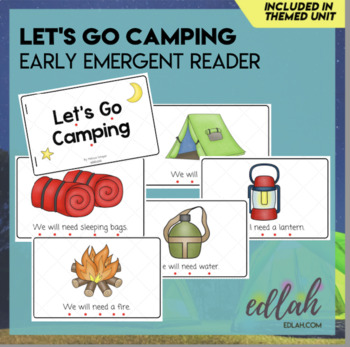 Let's Go Camping Early Emergent Reader