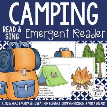 Camping Shared Reading Read & Sing Early Reader