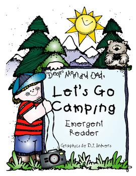 Let's Go Camping Emergent Reader