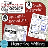 Let's Go Camping: Narrative Writing {Character Factory}