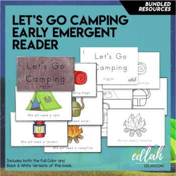 Let's Go Camping Themed Lesson Plans (one week)