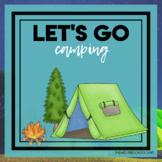 Let's Go Camping Themed Unit-Preschool Lesson Plans - Dist