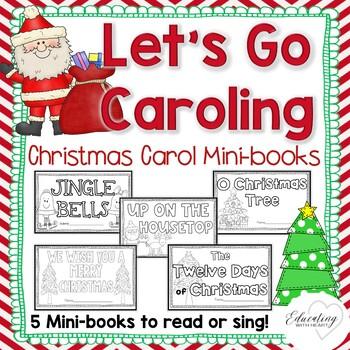 Let's Go Caroling: Christmas Carol Minibooks