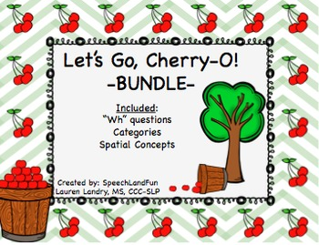 Let's Go Cherry-O! *BUNDLE*