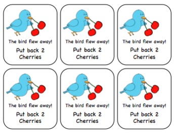 Let's Go Cherry-O! Spatial Concepts