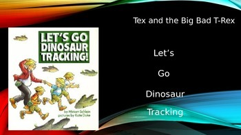 Let's Go Dinosaur Tracking Power Point