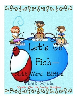 Lets Go Fish First Grade Sight Word Edition