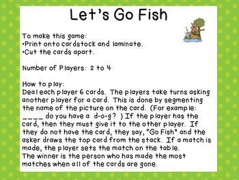 Let's Go Fish