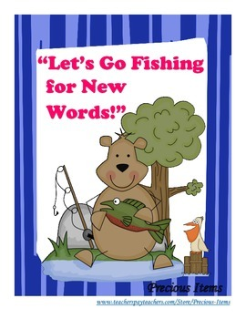 """Let's Go Fishing"" For New Words!"