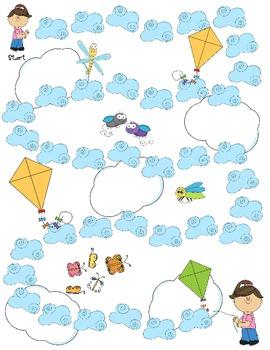 Let's Go Fly a Kite - A Long i (i_e) Board Game
