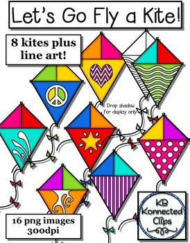 Kite Clip Art - Let's Go Fly a Kite!