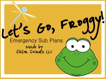 Let's Go, Froggy Emergency Sub Pack