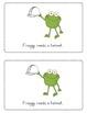 Let's Go Froggy Emergent Reader