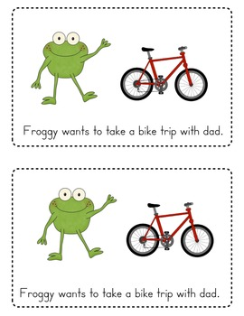 Let's Go Froggy Emergent Reader