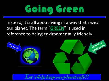 Let's Go Green America!