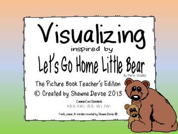 Visualizing inspired by Let's Go Home Little Bear by Marti