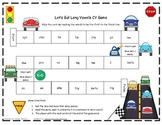 Let's Go! Long Vowels CV Literacy Station Word Game RF.1.3, RF.2.3