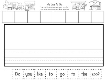 Let's Go! Mini-Readers and Writing