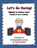 Let's Go Racing ~ Alphabet and Number Hunts