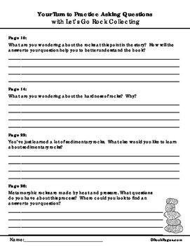 Let's Go Rock Collecting Lesson Plans & Activities Package, Third Grade (CCSS)