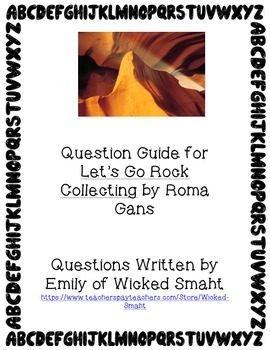 Let's Go Rock Collecting Question Guide