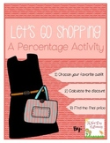 A Finding the Discount Activity - Let's Go Shopping
